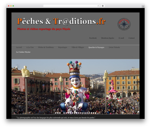 Catch Base Pro template WordPress - peches-et-traditions.fr