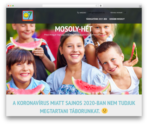SevenHills WordPress theme - mosolyhet.hu