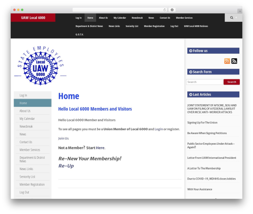 SmartAdapt WordPress theme - uawlocal6000.org