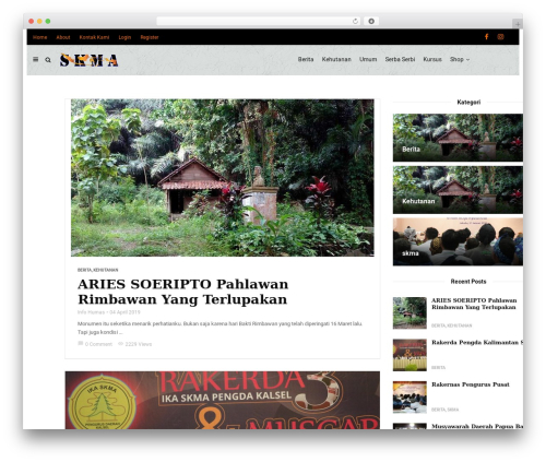 Theme WordPress MagPlus - skma.org