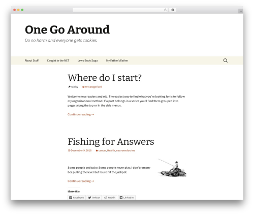 Twenty Thirteen theme WordPress free - onegoaround.com