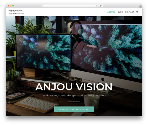 WordPress template neve - anjouvision.fr
