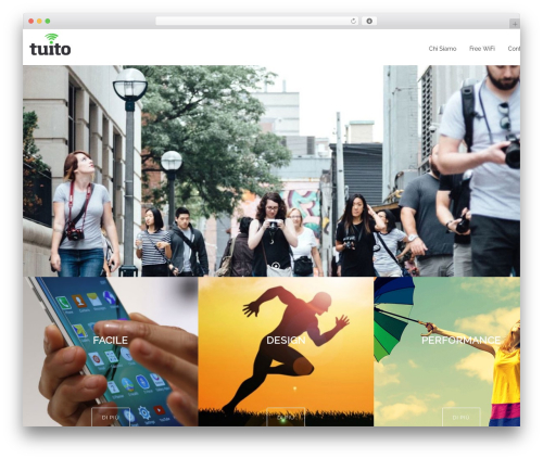 WordPress theme Sanigo - tuito.it