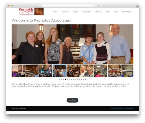 WordPress theme Unifield - reynoldsorgans.com