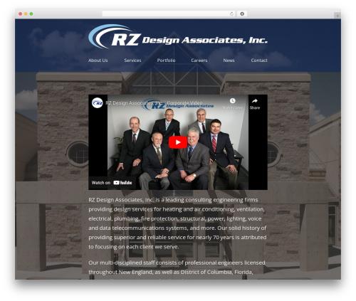 Aurora Tech WordPress theme - rzdesignassociates.com
