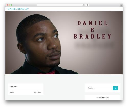 Best WordPress theme Webblog - danielbradleyonline.com