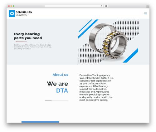 Betheme WordPress theme - demirdjianbearing.com