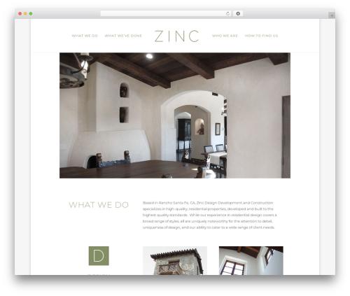 Divi business WordPress theme - zinc-ddc.com