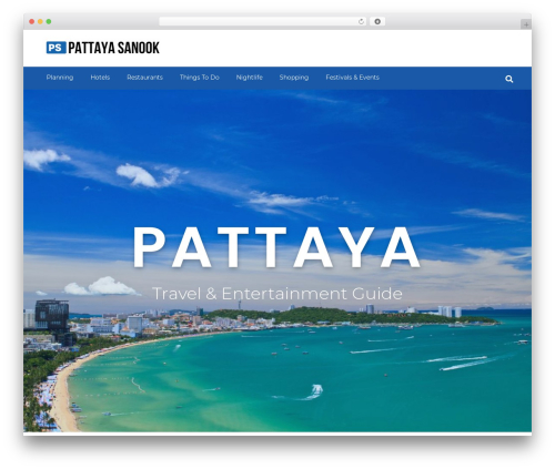 GeneratePress WordPress theme free download - pattayasanook.com