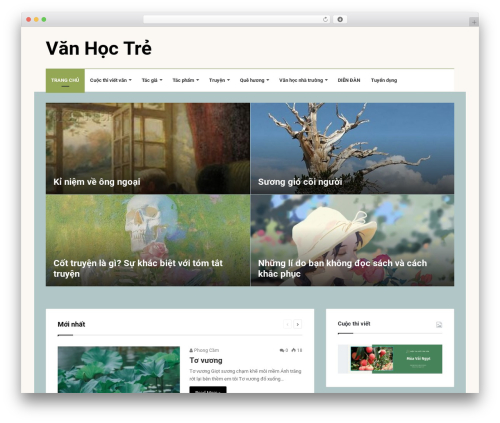 Jannah WordPress theme - vanhoctre.com