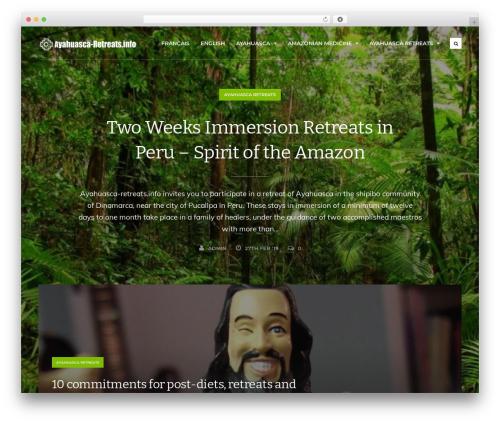 Koala WordPress theme - ayahuasca-retreats.info
