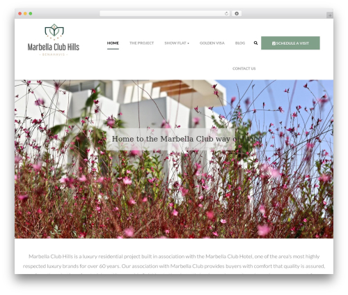opalhomes WordPress template - marbellaclubhills.com