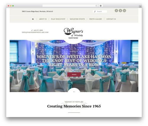 Royal Event WordPress theme - wagnersofwestlake.com