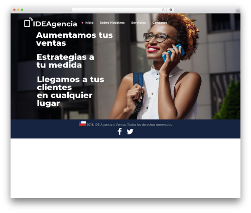 Synergia WordPress theme - ideagencia.net
