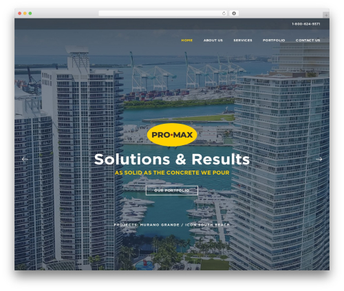 Template WordPress BuildPro - promaxpaint.com