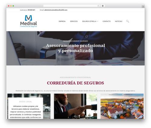 Terminus best WordPress theme - medival30.com
