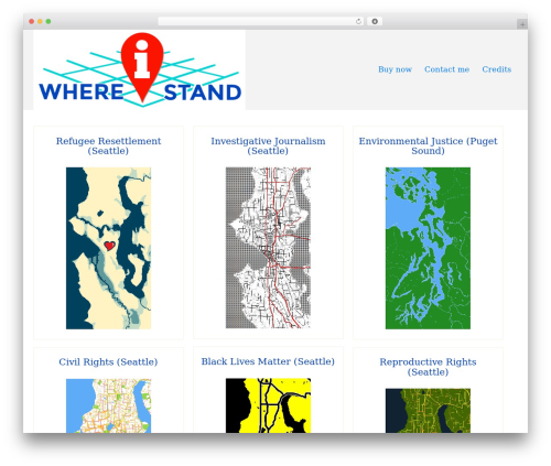Theme WordPress Di Responsive - whereistandmaps.com