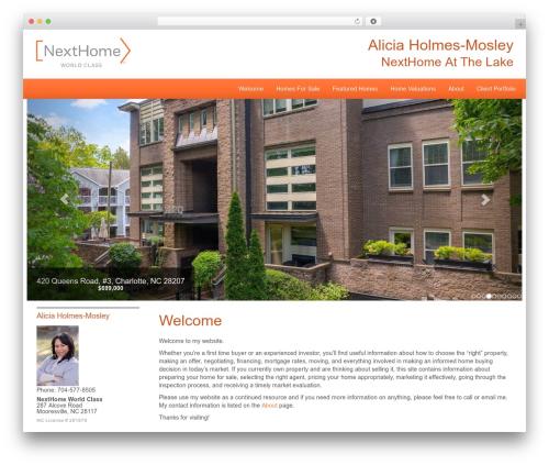 Theme WordPress NextHome Responsive - lakenormanfamilyliving.com