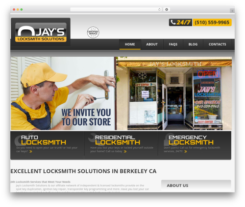 Theme WordPress theme46549 - jayslocksmithsolutions.com
