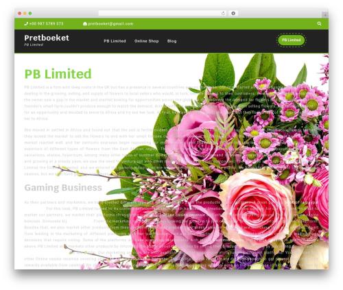Theme WordPress VW Gardening Landscaping - pretboeket.nl