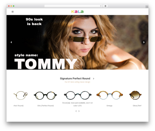 Total template WordPress free - kalaeyewear.com