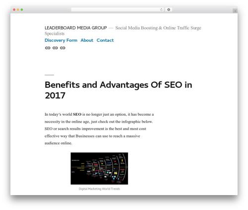 WordPress contenu plugin - leaderboardmg.com