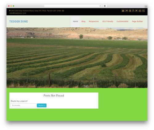 Best eCommerce WordPress theme design - teddertines.com