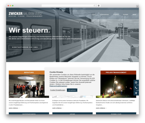 Best WordPress template BuildPro - zwicker-bc.com