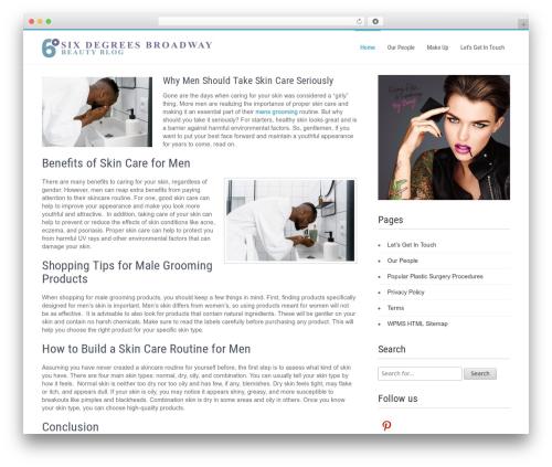 Businessweb Plus theme WordPress free - sixdegreesbroadway.com