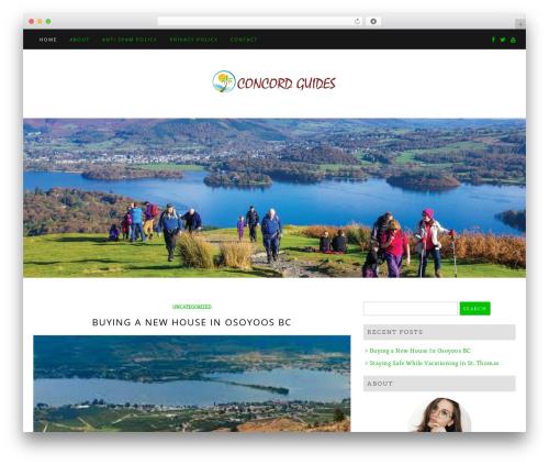 Di Blog WordPress travel theme - concordguides.com