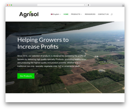 Divi WordPress theme - agrisolconsulting.com