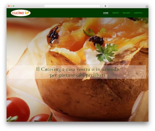 Picante WordPress theme - cucinoio.com
