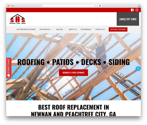 Reach Local WordPress theme - structuredhomeservices.com