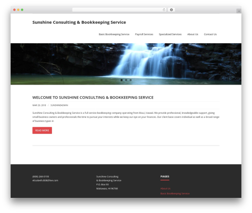 Renden WP theme - sunshineconsultingbookkeeping.com