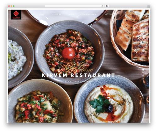 Rosa WP template - kirvemrestaurant.com