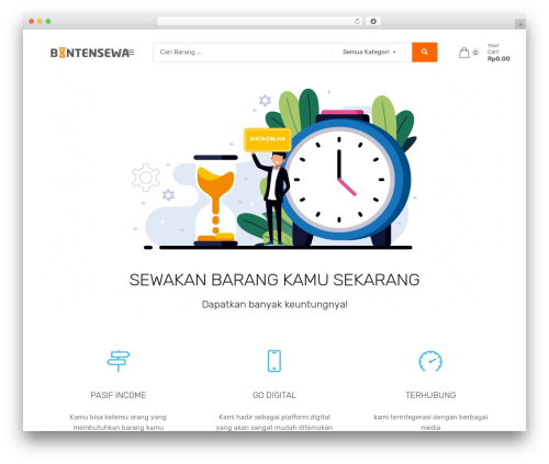 Techmarket WordPress theme - bantensewa.com