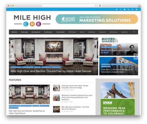 WordPress theme NEUE - milehighcre.com