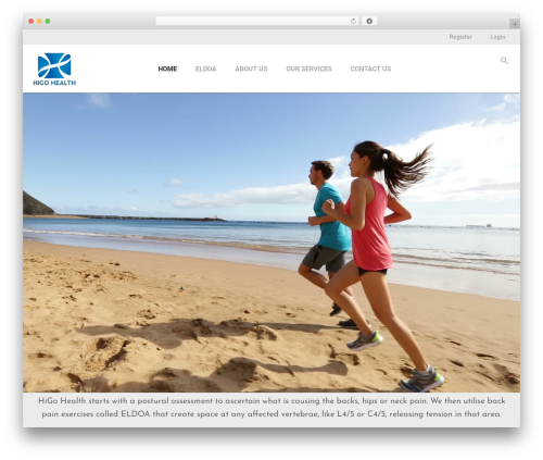 Aslan fitness WordPress theme - higohealth.com