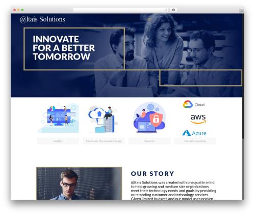 Betheme best WordPress template - altaissolutions.com
