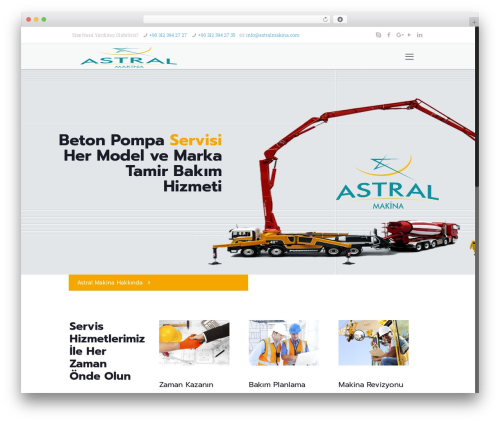 Betheme WordPress theme - astralmakina.com