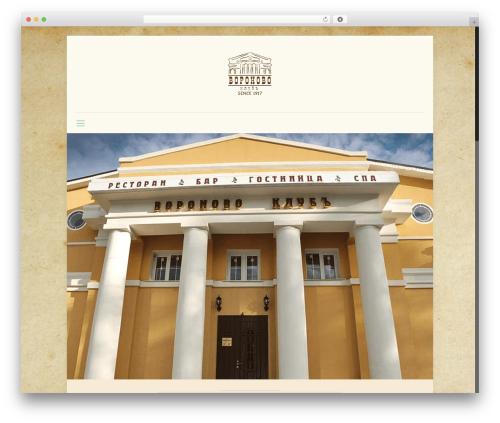 Betheme WordPress theme - voronovo-club.ru