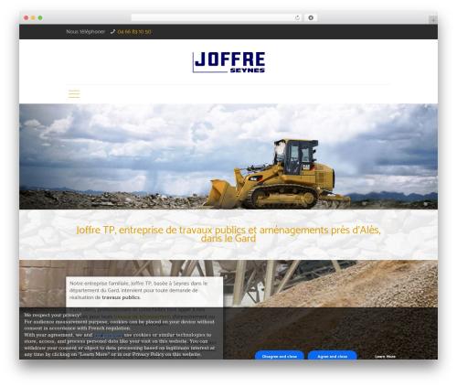 Betheme WP theme - joffre-tp.com