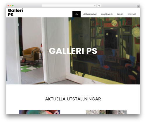 Book Club WordPress theme - gallerips.se