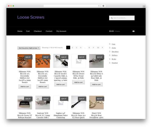 Boutique WordPress theme free download - loosescrews.com