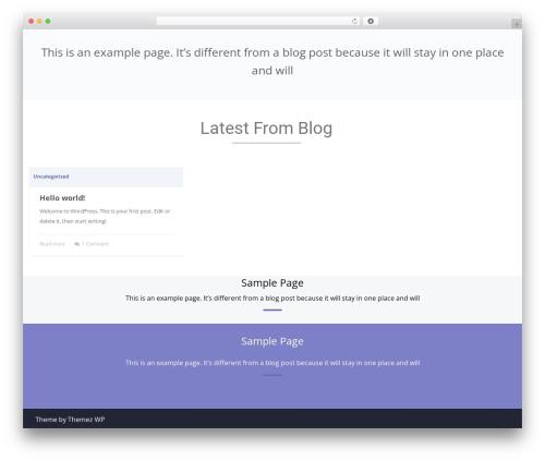 Mora WordPress template free - clarasysinc.com