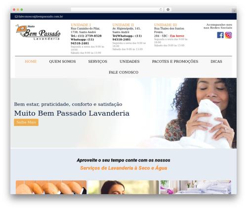 Odin WordPress theme - bempassado.com.br