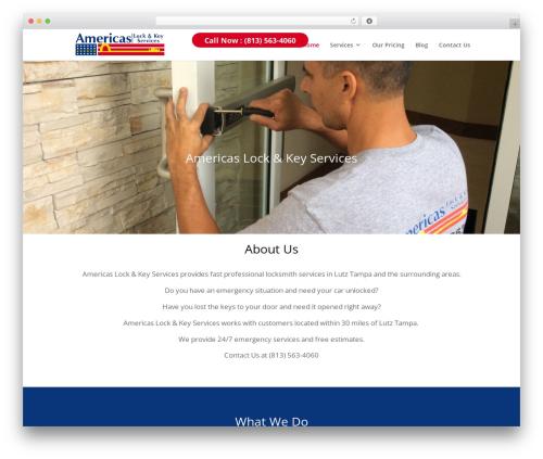 WordPress theme Divi - americaslockandkeyservices.com