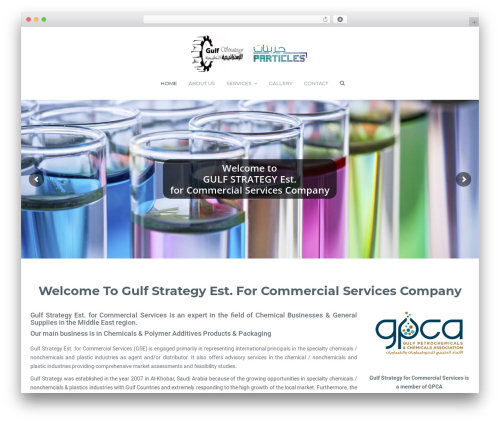 WordPress theme MedicPlus - gulfstrategy.net