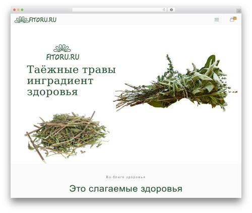 WP template Betheme - fitoru.ru