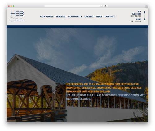 Beaver Builder Theme theme WordPress - hebengineers.com